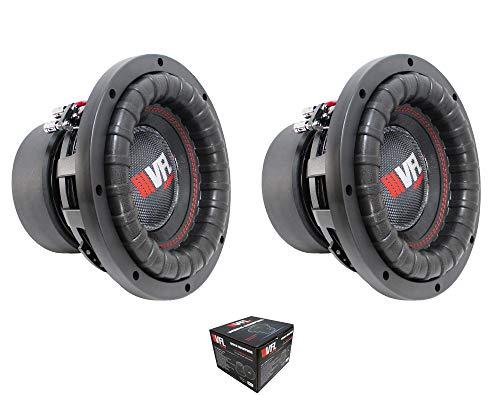 "Pair of American Bass VFL Audio 10"" 3200 Watt 4 Ohm Dual Voice Coil High Power Subwoofer"