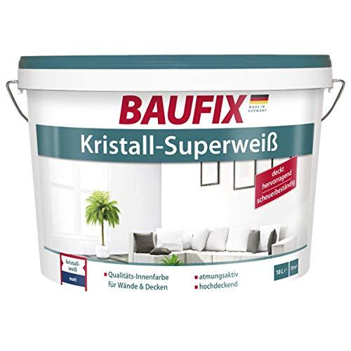 BAUFIX Kristall-Superweiß Wand- & Deckenfarbe weiß