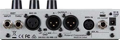 Boss VE-500 Vocal Performer Effects Pedal for Vocalists