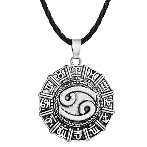 ShSnnwrl Collar Vintage nórdico Animal Cuervo águila Collar Colgantes de Odin Vikingo Cuervo runas para Unisex amuletos Collares joyería ga