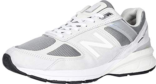 New Balance Men's M990V5 Running Shoe, Size: 10 Width: D Color: Nimbus Cloud/Silver