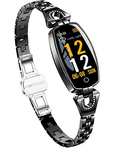 Smartwatch Mujer Elegante Pulsera Inteligente Impermeable Re