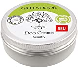 GREENDOOR Deo Creme Sensitiv 50ml, ohne Parfum, ohne...