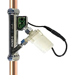 Automatic In Line Pump Quiet, fits any angle or orientation, Retro-fit Provides a whole house solution to low water pressure. Can add up to 1.1 Bar of pressure to your system Easy to install: DIY in 3 Steps Suitable for all plumbing systems