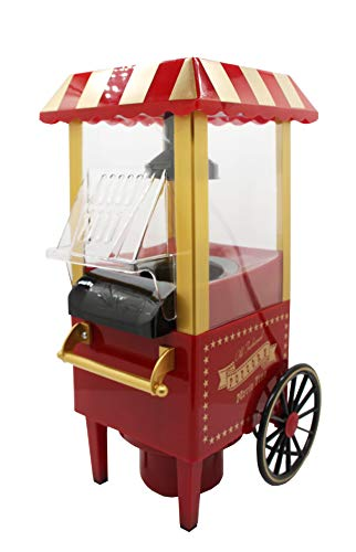 FixtureDisplays Mini Carriage Shape Hot Sell Popcorn Maker Popcorn Machine 15914