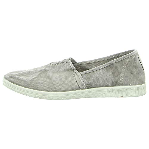 Natural World Eco Damen Slipper 615 E 670 grau 487442