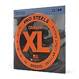 D'Addario ProSteels EPS510 Cordes pour guitare électrique Regular Light 10-46