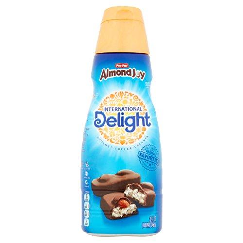 2 pack of International Delight Almond Joy Coffee Creamer, Quart, 32 oz (2 Pack)
