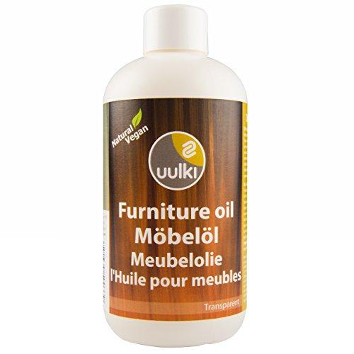 Uulki Aceite natural Aceite para muebles Cuidado de la madera - Proporciona...