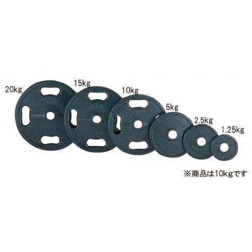 エバニュー 50φラバープレート 10kg ETB444