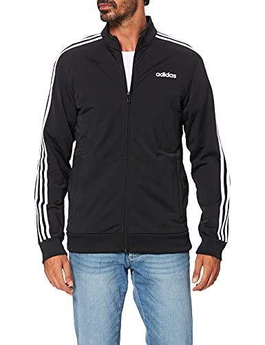 adidas Herren Essentials 3-Streifen Trainingsjacke, Black/White, S