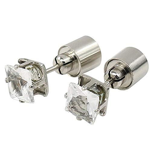 U/K Led Earrings Light Up Glowing Crystal Stud Flashing Light Novelty Lighting SuperiorQuality and Creative