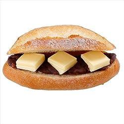 小麦の郷 十勝小豆の粒あんバターフランス(1コ) 本日中にお召上り下さい