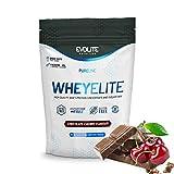 Evolite Nutrition WheyElite 900 g - Proteina Whey - Crear Batidos Para Adelgazar - Proteinas Para Aumentar Masa Muscular - Proteina Isolada (Cereza de chocolate)
