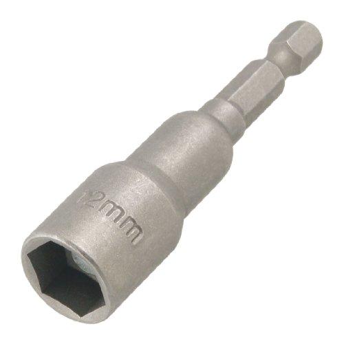 Sourcingmap Innensechskant-Nuss für Schraubendreher, magnetisch, Grau, a12082000ux0095