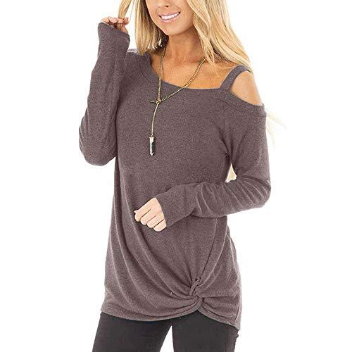 Generice - Camiseta de manga larga para mujer