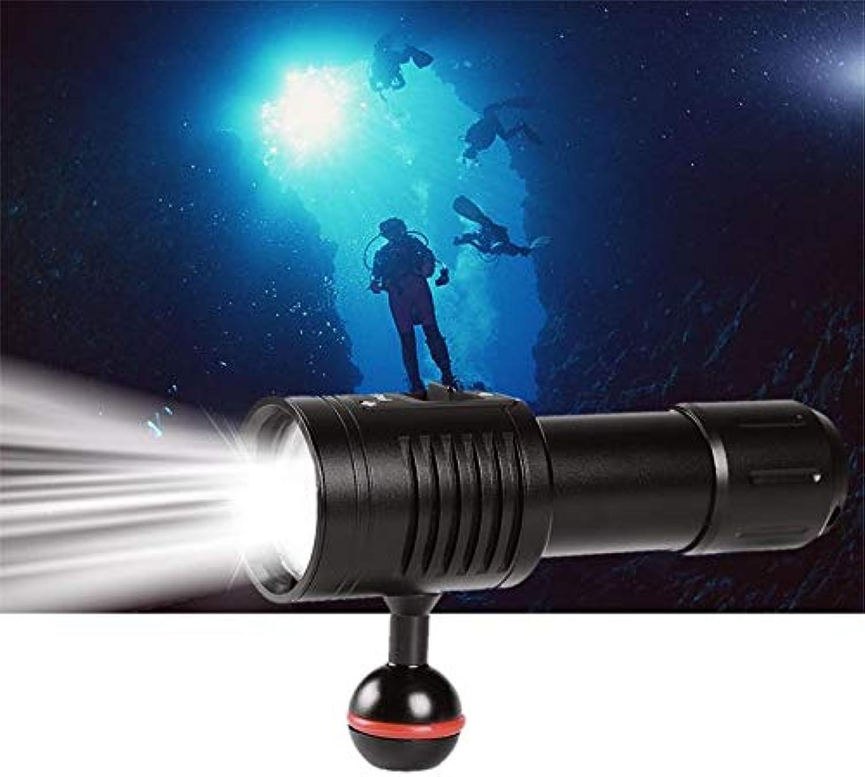 (Neueste ) Feuer Tauchen Lichter Unterwasser 100M Video Fotografie professionelle Tauchen Taschenlampe, 1800 Lumen 6 Modus 4 XP-G2 LED + 2 weie rote LED taktische Taschenlampe