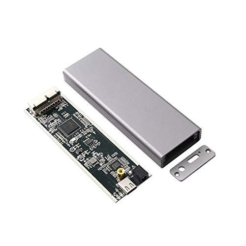 XT-XINTE Aleación de aluminio tipo C USB-C a 16+12 Pin caja móvil HDD recinto para Air Pro 2013 2014 2015 2016 SSD portátil caso