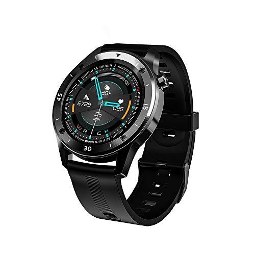 Relojes inteligentes informales, relojes inteligentes para iPhone, Samsung, Bluetooth Fitness Tracker Relojes deportivos para hombres y mujeres IP67 impermeable, pulsera de muñeca Monitores