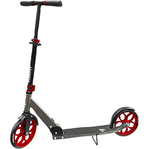 Firefly Scooter FF 230 Urba, Black/Silver/Red, One Size