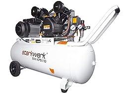 Starkwerk Druckluft Kompressor SW 475/10-10 Bar - 100L Kessel