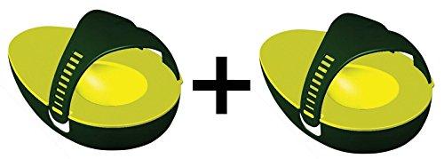 Evriholder Avocado Saver/Storage Keeps Longer Lasting Fresh Save Money 2-Pack