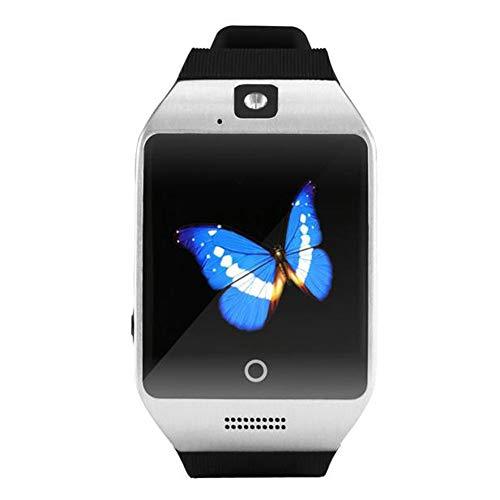 Hfan Bluetooth Smart Watch GSM Kamera Tf Karte Handy Armbanduhr Selfie Schlafüberwachung Anti-Verloren Remote-Aufnahme Mp3-Audio-Player Schrittzähler SMS Damen Herren Sportuhr Für Android