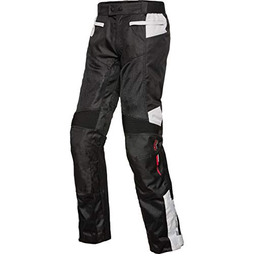 FLM Motorradhose Sommer Sports Textilhose 6.0 schwarz L, Herren, Sportler