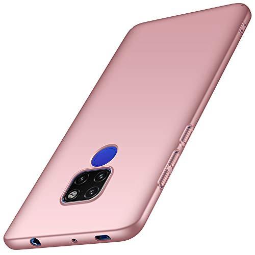 ORNARTO Funda Huawei Mate 20, HW Mate 20 Carcasa [Ultra-Delgado] [Ligera] Mate Anti-arañazos y Antideslizante Protectora Sedoso Caso para Huawei Mate 20 (2018) 6.53'Oro Rosa
