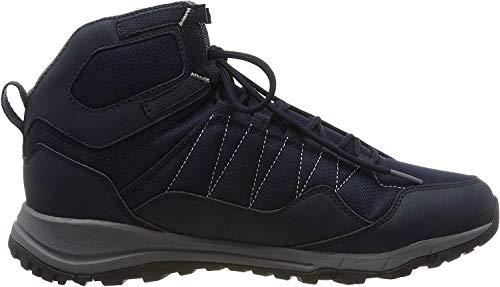 Jack Wolfskin Herren Maze Texapore Mid M Wasserdicht Trekking-& Wanderstiefel, Blau (Dark Blue/ Light Grey 1168), 44.5 EU