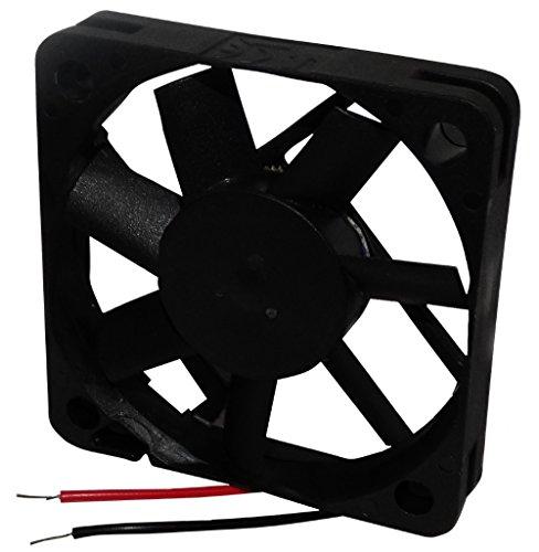 AERZETIX: Ventilador para PC Ordenador de sobremesa 5V 50x50x10mm 22,09m3/h 30dBA 5200rpm 26AWG