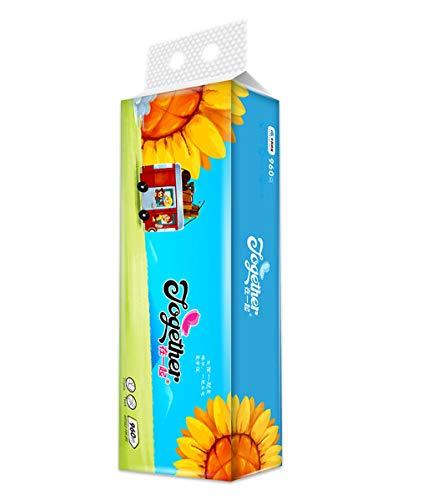 4 lagen toiletpapier, 16 rollen zacht toiletpapier milieuvriendelijk keukenpapier rol toiletpapier.
