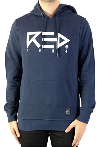 Redskins RED84 Spinner Sweat-Shirt, Bleu (Navy Blue Navy Blue), X (Taille Fabricant: Extra Large) Homme