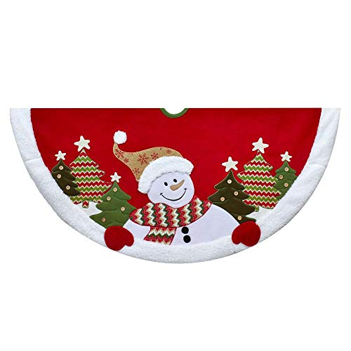 Kurt S. Adler TS0235 Tree Skirt, Red, Green, White