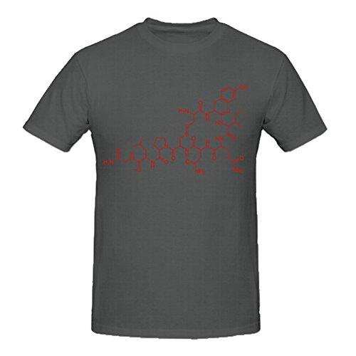 heeloo Hombres de la molécula oxitocina de sexo love orgasmo personalizado Big T Shirt