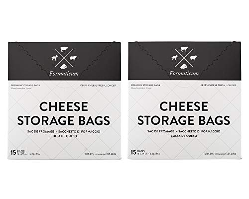 Formaticum Cheese Storage Bags, 30 Count