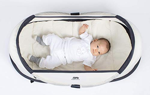 Deryan Baby-Reisebett, Khaki - 4