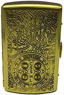 Actopus Pure Brass Constantine Ghost Cigarette Case Metal Holder