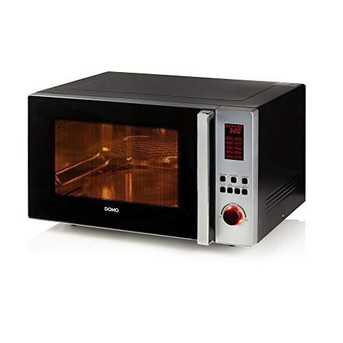 XL-Kombi-Mikrowelle mit Grill + Konvektion. 42Liter Fassungsvermögen = Volumen, bis zu 2700Watt (black)