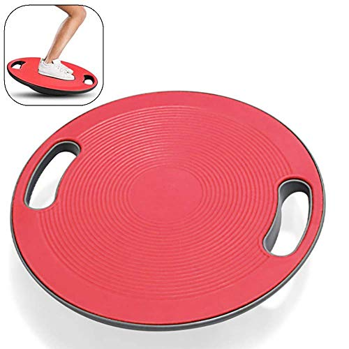 Check Out This DFSX Red Balance Board High-Intensity Training Balance Board Portable Balance Stabili...