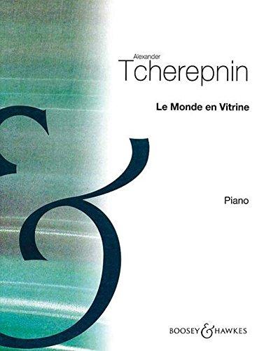 Le Monde en Vitrine: Fünf Stücke für Klavier. Klavier.