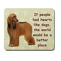 人が犬のような心を持っていた場合のアフガンハウンド犬PUPマウスパッドマウスPAD 95136168