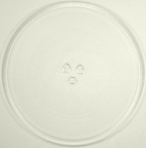 Mikrowellenteller / Drehteller / Glasteller für Mikrowelle # ersetzt Cinex Mikrowellenteller # Durchmesser Ø 32,4 cm / 324 mm # Ersatzteller # Ersatzteil für die Mikrowelle # Ersatz-Drehteller # OHNE Drehring # OHNE Drehkreuz # OHNE Mitnehmer