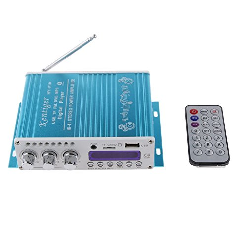 DollaTek Mini Bluetooth Hallo-Fi-Stereo-Audio-AMP Verstärker Bass Booster MP4 12V Unterstützung FM / MP3 / TF/USB/DVD für Auto-Motorrad-Auto-CD DVD