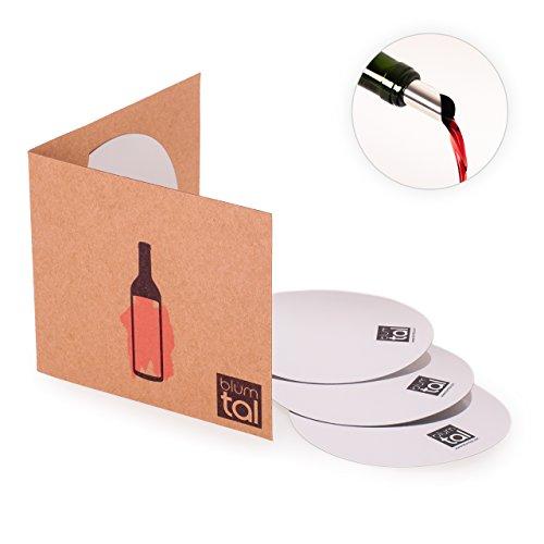 Blumtal 18x Weinausgiesser - Weinflaschen Ausgiesser ohne Tropfen, Silber