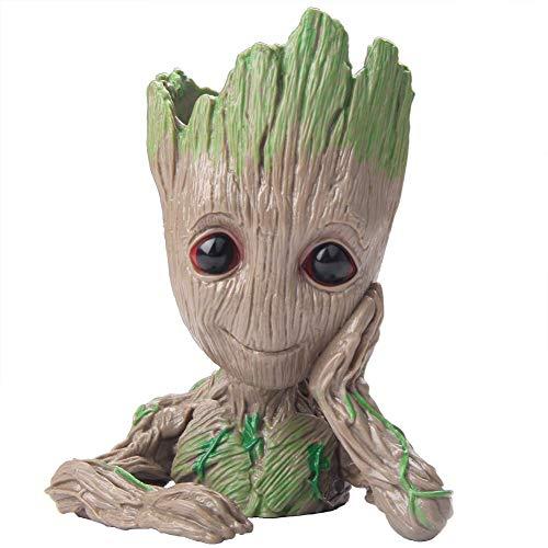 Maceta para bebé de Myears, Guardians of The Galaxy Groot Pen Holder o maceta para el hogar u oficina, para cualquier ocasión