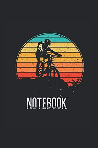 Vintage Bicycle Retro Sunset: I Cuaderno I Cuaderno I Bicicleta I Bmx I Diario de bala I Moutainbike I Motivo de la bicicleta I Cuadrícula de puntos I ... I Cuaderno de notas I Diario I Regalo