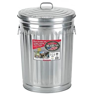 Behrens Garbage Can With Side Drop Handles - 20 Gallon