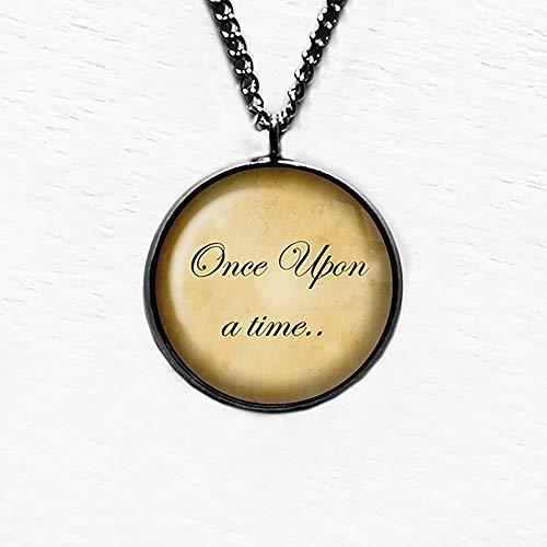 Fairytale Once Upon A Time Märchen Es War Einmal Anhänger und Halskette