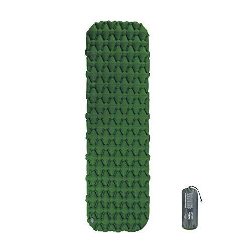 Naturehike Isomatte leicht 6,5 cm Dicke,Einzelne Schlafmatten,Aufblasbares Luftkissen Outdoor Kompakt und feuchtigkeitsfest für Wandern, Backpacking, Camping (Armee Grün)